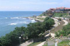 La plage de Nessebar