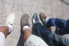Un pied en Asie