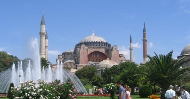 Catédrale Sainte Sophie, Istanbul