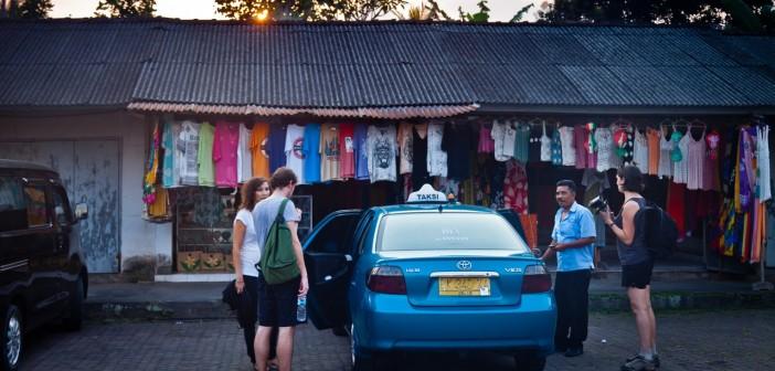 Taxi Blue Bird Bali Indonésie