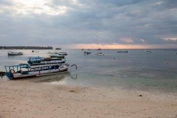 Coucher de soleil Nusa Lembongan Bali Indonesie