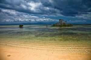 Plage déserte Nusa Lembongan