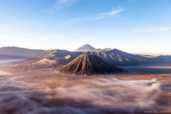 Mont Bromo lever soleil Java Indonesie