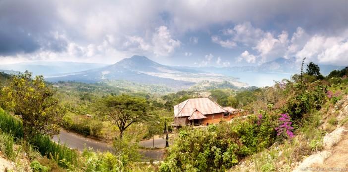 Panoramique Gunung Batur Bali Indonesie