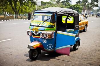 Super tuk-tuk Jakarta Java Indonesie