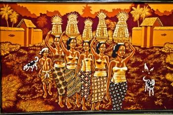 Batik Yogyakarta Java Indonesie