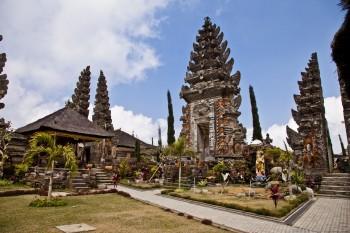 Temple de Gunung Batur Bali Indonésie