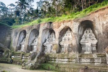Temple Gunung Kawi Bali Indonésie