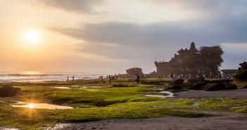 Temple de Tanah Lot Bali Indonesie