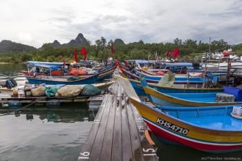Bateaux Langkawi Malaisie