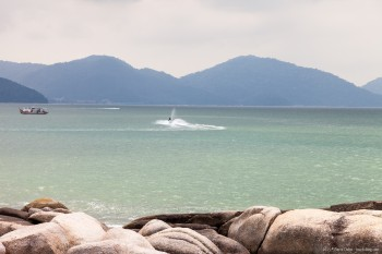 Plage Batu Ferringhi Penang Malaisie