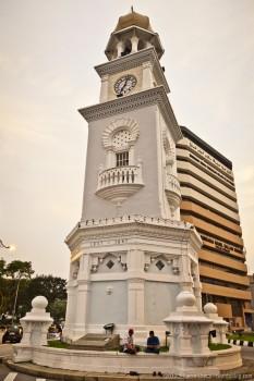 Tour Horloge Georgetown Penang Malaisie
