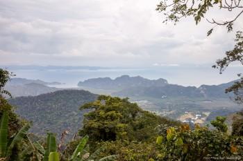 Vue Gunug Raya Langkawi Malaisie