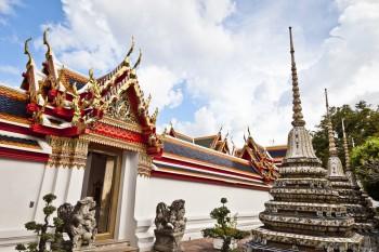 Le temple du Wat Pho, Bangkok, Thaïlande