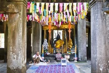 Temple de Banteay Kdey Angkor Cambodge