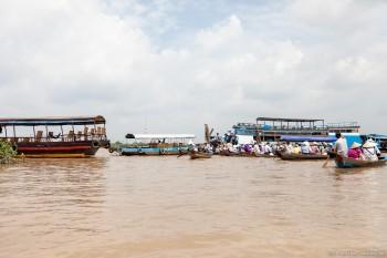 Bateaux sur le Mekong, Vietnam
