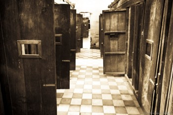 Cellules prison Tuol Slang Phnom Penh Cambodge