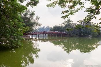 Lac Hoan Kiem, Hanoi, Vietnam