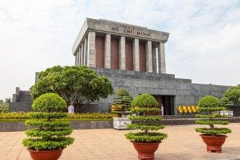 Mausolée d'Ho Chi Minh, Hanoï, Vietnam