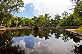 Neak Pean Angkor Cambodge