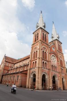 Notre Dame Ho Chi Minh ville Vi