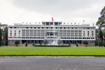 Palais de la réunification, Ho Chi Minh ville, Vietnam