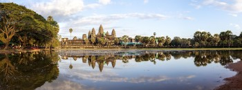 Panoramique d'Angkor Wat, Cambodge