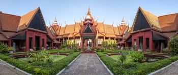 Panoramique National Museum Phnom Penh Cambodge