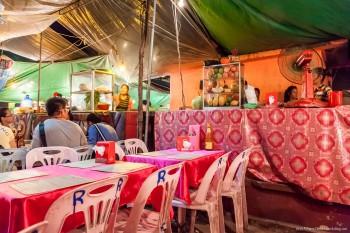 Restaurant marche Siem Reap Cambodge