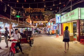 Siem Reap de nuit Cambodge