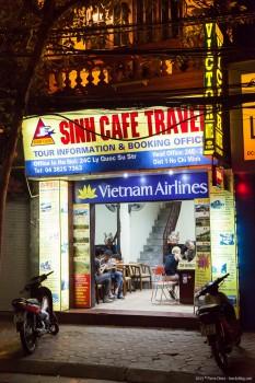 Sinh Café, Hanoï, Vietnam
