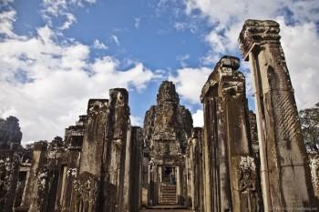 Temple de Bayon, Angkor, Cambodge