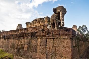 Temple de Mebon, Angkor, Cambodge
