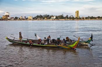 Tonle Sap Phnom Penh Cambodge