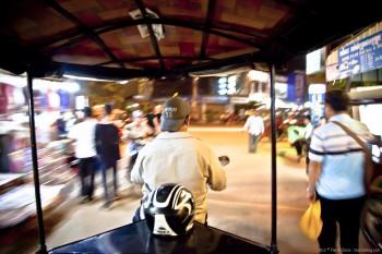 Tuk tuk Siem Reap Cambodge