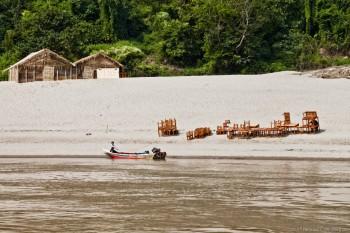 Au bord du Mékong, Laos