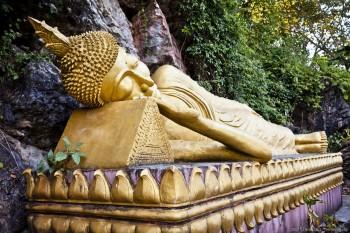 Bouddha couché, Luang Prabang, Laos