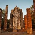 Temple Wat Sapan Hin, Sukhothai