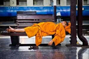 Monk gare de Bangkok