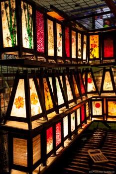 Lampe marché Chiang Mai Thailande