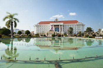 Palais Patuxai Vientiane Laos