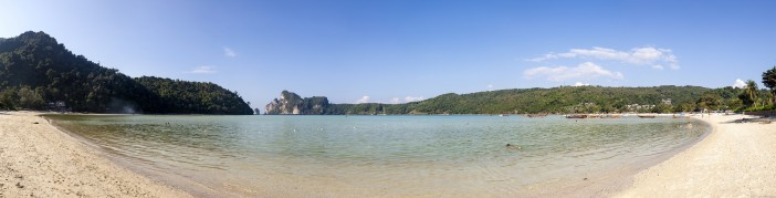 Panoramique Loh Dalam Bay Koh Phi Phi Don Thailande