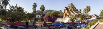 Panoramique centre Luang Prabang Laos