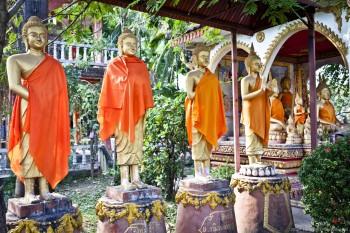 Statues, Vientiane, Laos