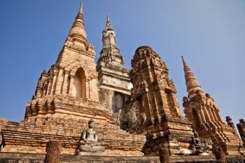 Temple Maha Hat Sukhothai Thailande
