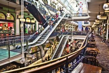 Shopping mall, Sydney CBD