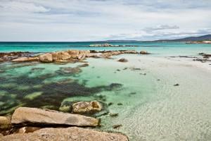 Sable blanc et eaux turquoises, Bay of Fires