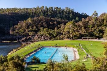 La piscine de Cataract Gorge, Launceston