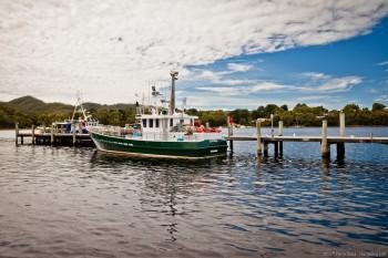 Port de Strahan, Tasmanie