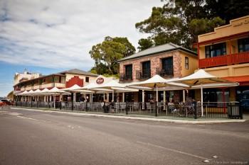 Rue de Strahan, Tasmanie